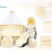 Voodipesukomplekt Tuttolina Sweet Cream