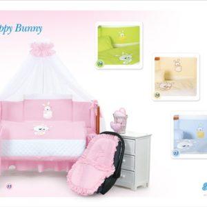[:et]Voodipesukomplekt Tuttolina Happy Bunny[:ru]Комплект постельного белья Tuttolina Happy Bunny