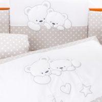 Бортик для кроватки Tuttolina Cuddle Bear