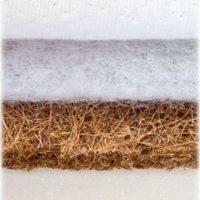 Kookos-vaht madrats Sensillo 120 × 60 cm